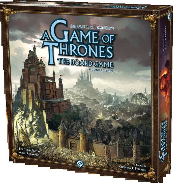 GAME OF THRONES BOARDGAME 2ND EDITION