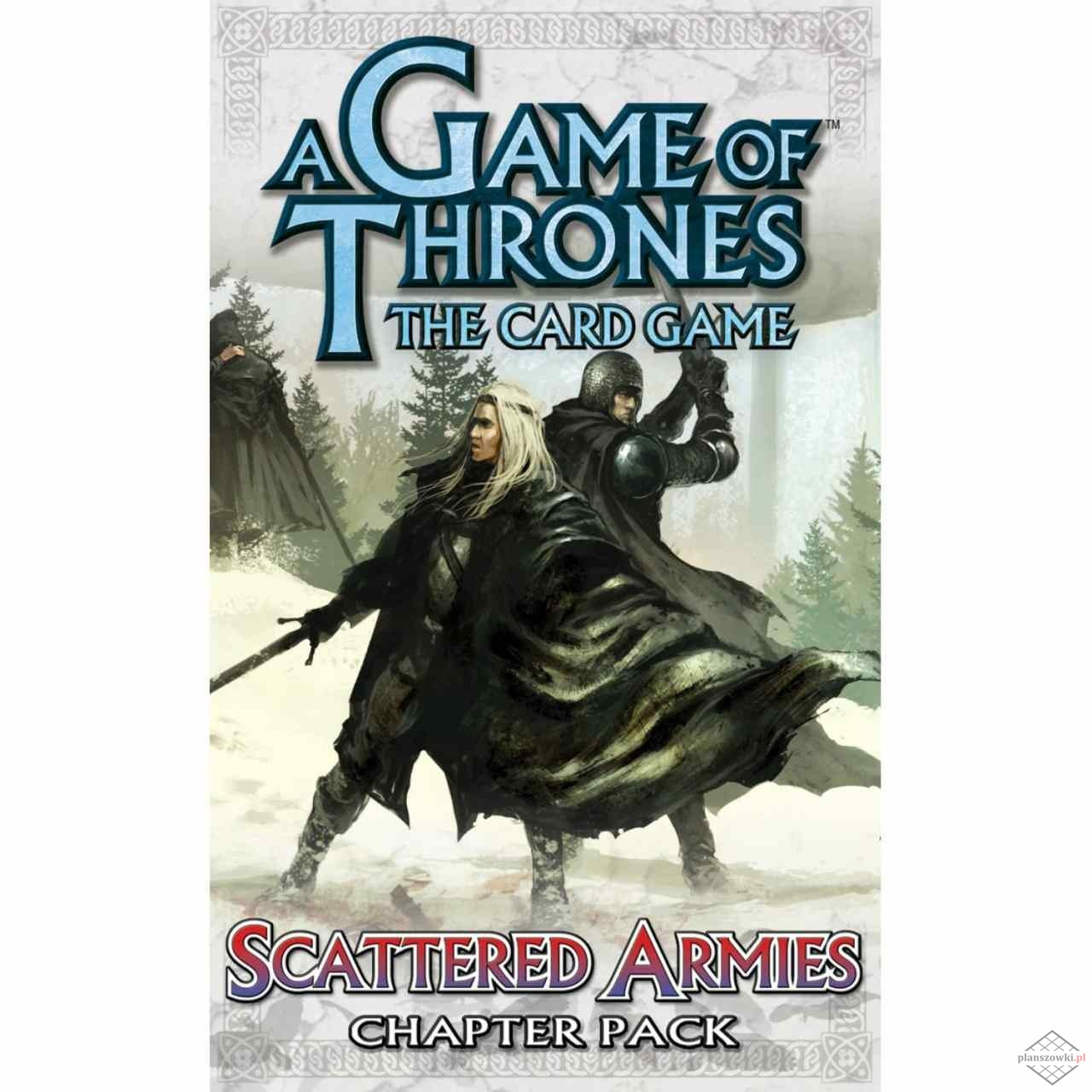 GAME OF THRONES - A Time of Ravens - SCATTERED ARMIES (60 kart)